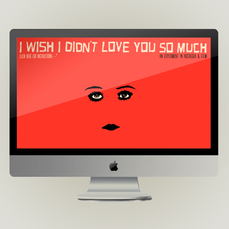 I WISH I DIDN'T LOVE YOU SO MUCH
